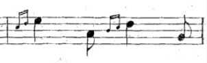 двойная маленькая нота