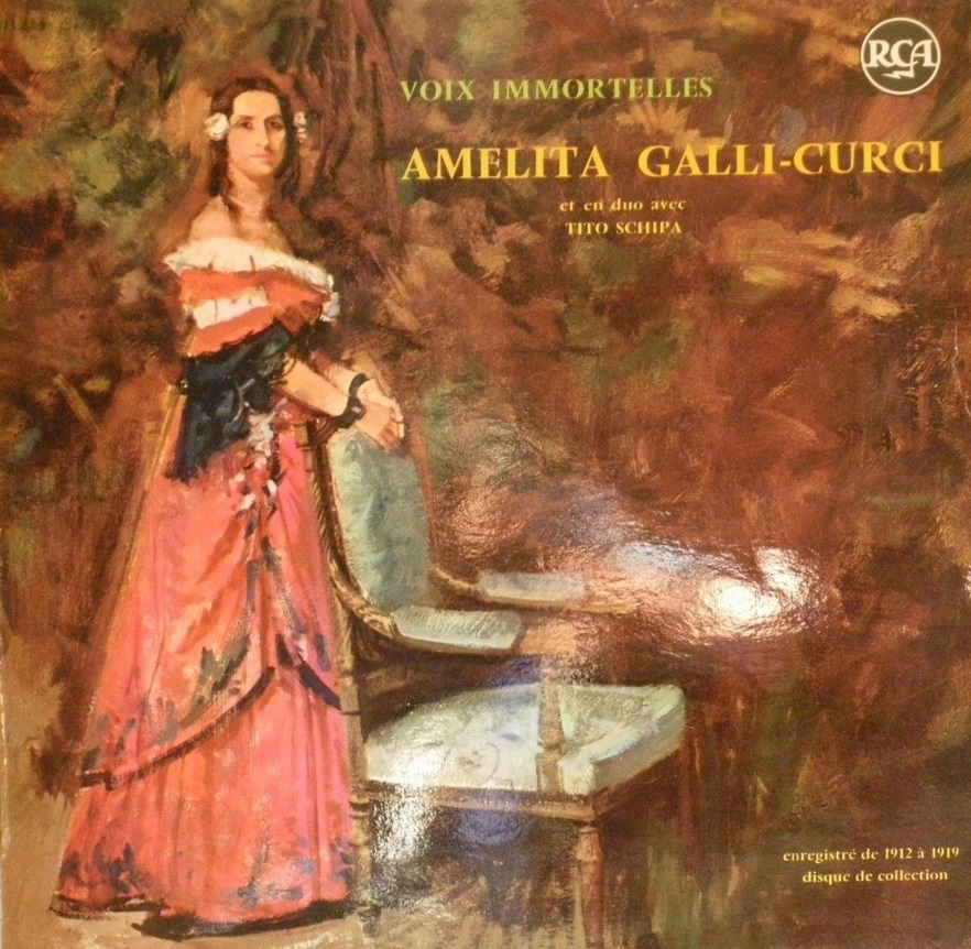 Амелита Галли-Курчи. Самообучение